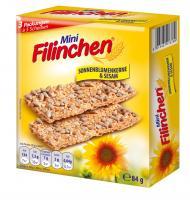 Mini Filinchen Sonnenblumen & Sesam 3er - 84g
